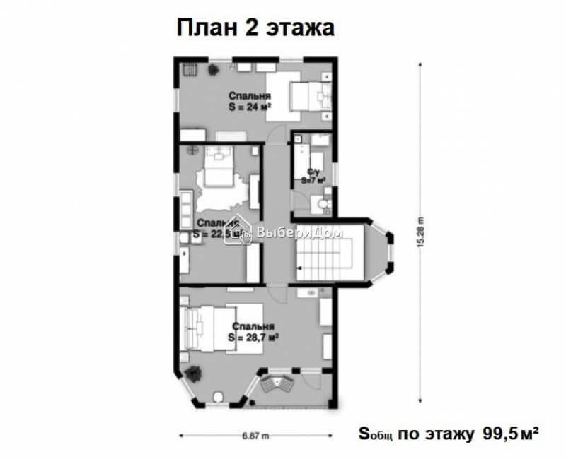 Новый дом 305 м² в центральной части города