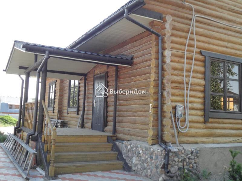 Загородный дом из бревна в д.Кривцово