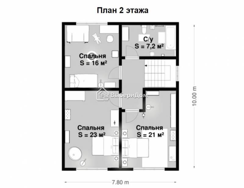 2х этажный стильный и современный дом, для тех кто любит просто но со вкусом