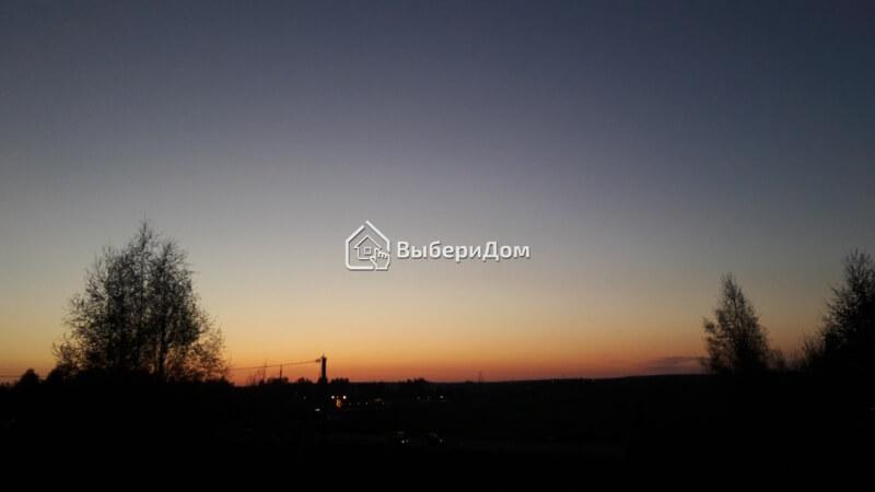 Коттедж с красивым видом из окон в Беляницах
