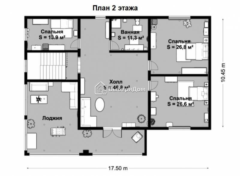 Дом в Бухарово с хорошими соседями