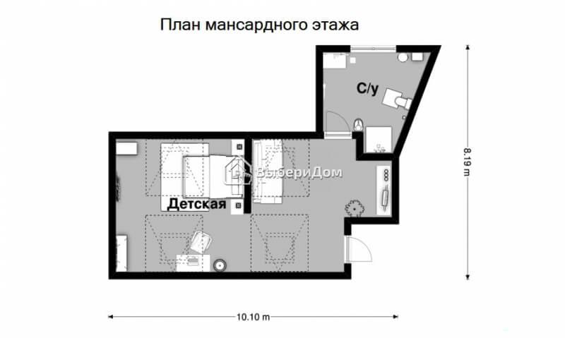 Коттедж с сауной и бассейном на большом участке в д.Игнатово