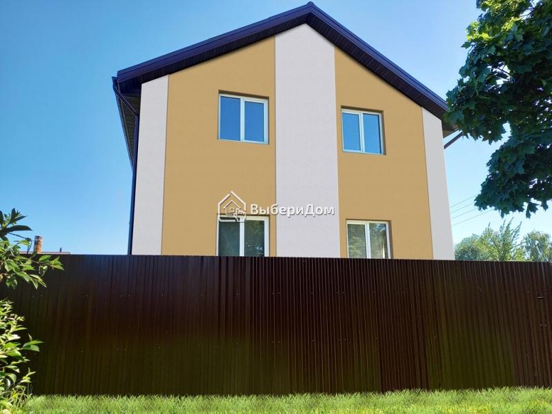 Новый 2х этажный кирпичный дом в хорошем месте