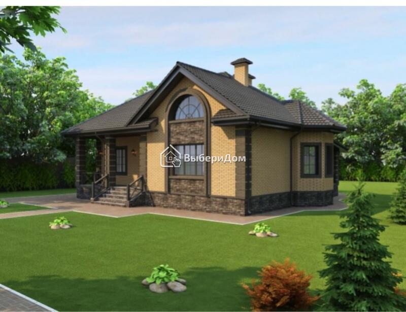 Загородный дом с большой верандой рядом с озером