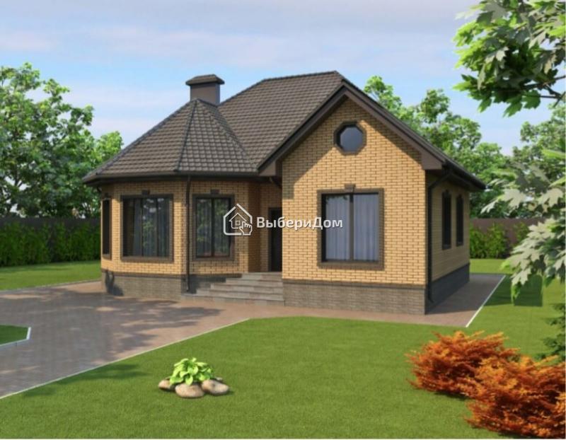 Новый загородный дом в современном коттеджном посёлке в живописном месте