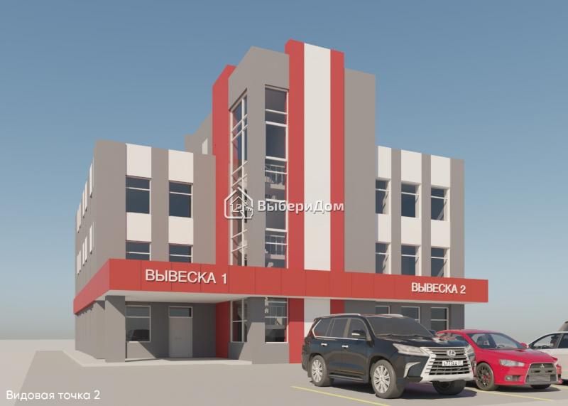 Участок под строительство  здания, коммерческого назначения
