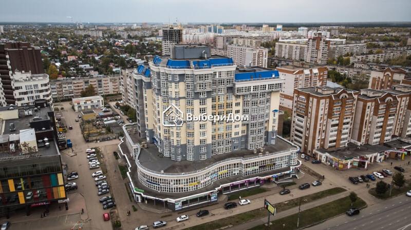 """Большая 2х комнатная квартира в ЖК """"Аристократ"""""""